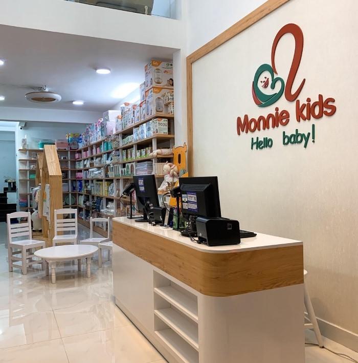 Monnie Kids: Bán hàng không xuất hoá đơn, không tem nhãn phụ - Ảnh 1