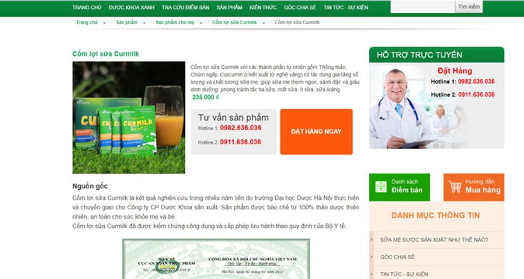 TPBVSK Curmilk vi phạm quảng cáo, lừa dối khách hàng? - Ảnh 3