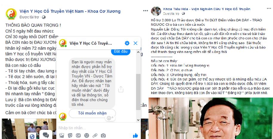 Kỳ 1: Mạo danh bệnh viện Tuệ Tĩnh, lợi dụng hình ảnh GS. Nguyễn Lân Dũng bán TPCN? - Ảnh 3
