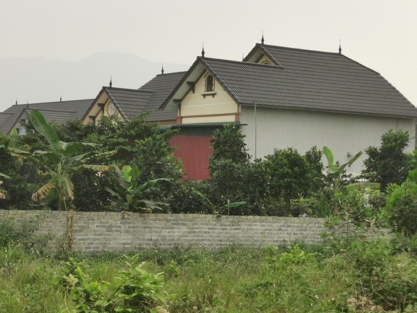 Ba Vì (Hà Nội): Hàng chục công trình khủng xây trái phép trên đồi Hoàng Long - Ảnh 2