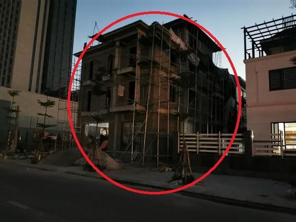 Vĩnh Phúc: 'Bó tay' trước công trình phá vỡ quy hoạch của giám đốc Sở Giao thông Vận tải - Ảnh 1