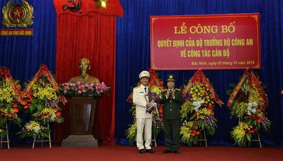 Đại tá Phạm Thế Tùng được bổ nhiệm làm Giám đốc Công an tỉnh Bắc Ninh - Ảnh 1