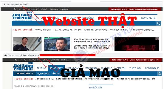Hải Phòng: Phát hiện tin tức giả mạo cơ quan báo chí - Ảnh 2