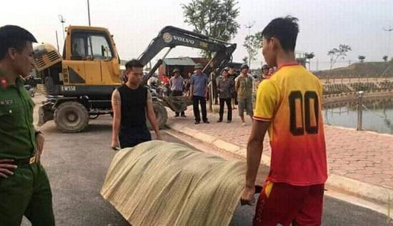 Bắc Giang: Đi chơi ngày 20/10, nữ công nhân không may trượt chân rơi xuống hồ tử vong - Ảnh 1