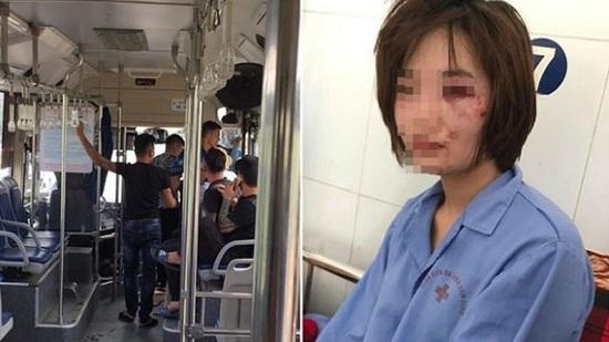 Nhóm đối tượng hành hung nữ phụ xe buýt vì bị nhắc nhở có thể phải đối mặt với khung hình phạt nào? - Ảnh 1