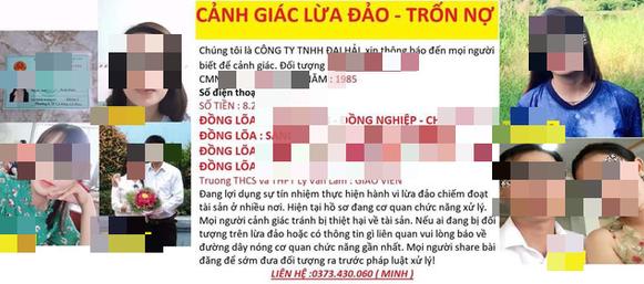 Đồng nghiệp vay tiền trên mạng, nhiều giáo viên trong trường bị nhắn tin đòi nợ - Ảnh 1