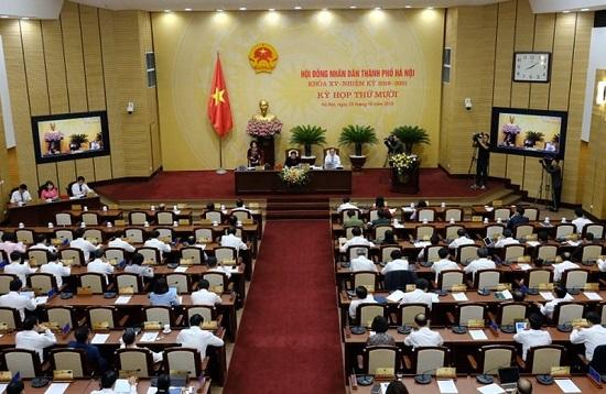 HĐND TP. Hà Nội họp bất thường, miễn nhiệm nhiều nhân sự - Ảnh 1