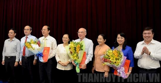 Ban Bí thư chuẩn y 3 Ủy viên Ban Thường vụ Thành ủy TP Hồ Chí Minh - Ảnh 1