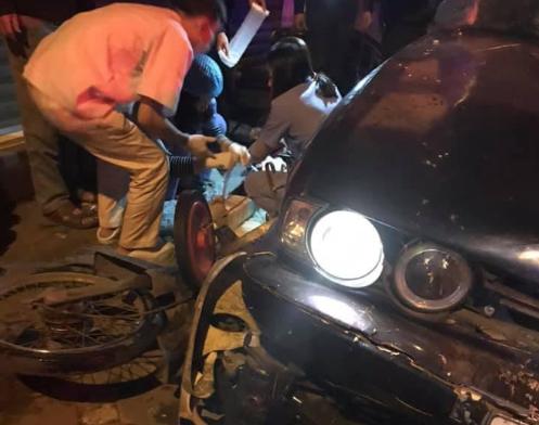 Danh tính tài xế xe BMW gây tai nạn liên hoàn trên phố Hà Nội lúc rạng sáng - Ảnh 1