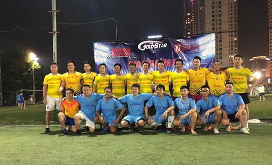 Báo Đời sống& Pháp luật giao hữu bóng đá với CLB Gold Star  - Ảnh 1