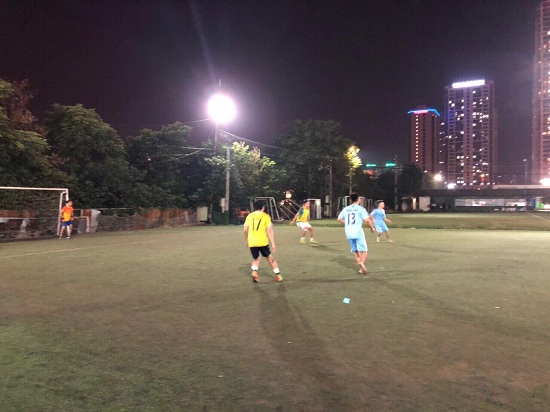 Báo Đời sống& Pháp luật giao hữu bóng đá với CLB Gold Star  - Ảnh 2