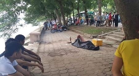 Hà Nội: Tá hỏa phát hiện thi thể nam thanh niên dưới hồ Linh Đàm - Ảnh 1