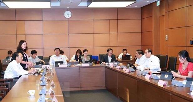 Quốc hội thảo luận tại tổ hai dự án Luật và biểu quyết một nghị quyết - Ảnh 1