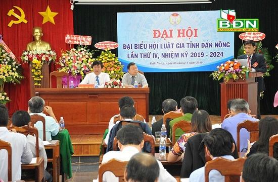 Hội Luật gia tỉnh Đắk Nông: Triển khai hiệu quả các nhiệm vụ trọng tâm - Ảnh 1