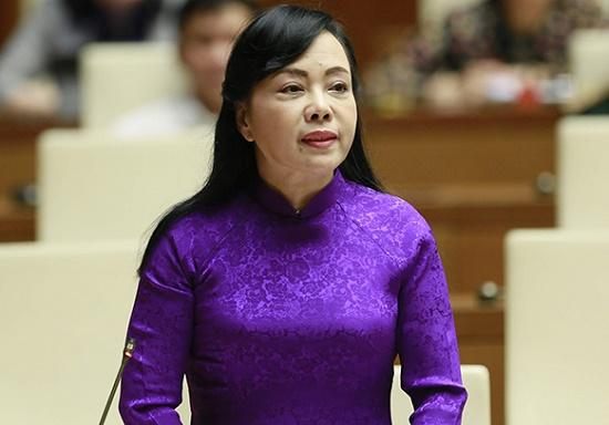 Thủ tướng trình Quốc hội phê chuẩn miễn nhiệm Bộ trưởng Nguyễn Thị Kim Tiến - Ảnh 1