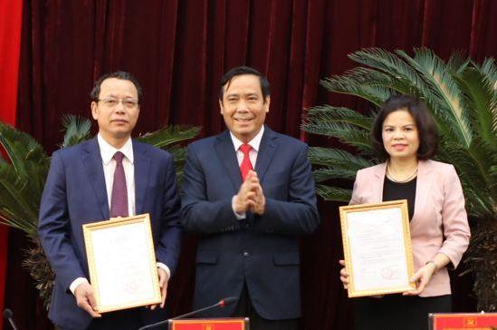 Ban Bí thư quyết định nhân sự chủ chốt tại tỉnh Bắc Ninh - Ảnh 1
