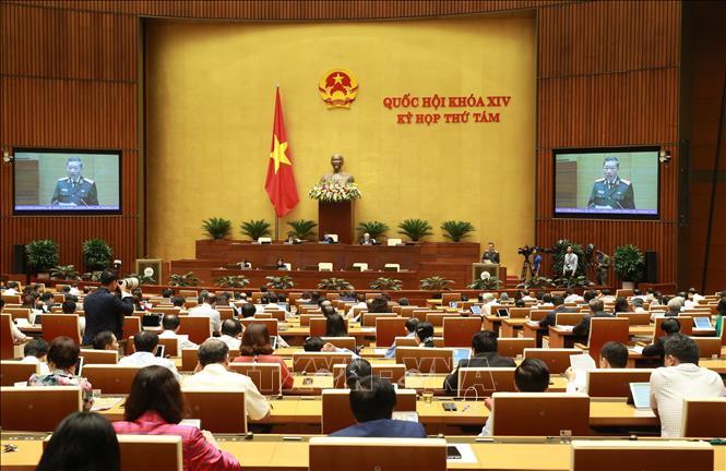 Quốc hội tiếp tục cho ý kiến về công tác tư pháp, phòng chống tội phạm - Ảnh 1