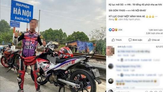 """Vụ nam thanh niên chạy xe xuyên Việt hết hơn 19 tiếng: """"Phượt thủ"""" thừa nhận bịa chuyện để gây chú ý dư luận - Ảnh 1"""