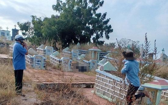 Bình Thuận: Hoảng hốt phát hiện thi thể không nguyên vẹn trong nghĩa trang - Ảnh 1