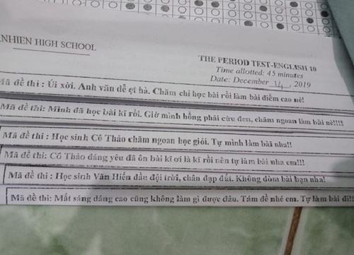 """Những mã đề thi siêu """"bá đạo"""" của thầy cô khiến học sinh chỉ biết """"câm nín"""" - Ảnh 5"""