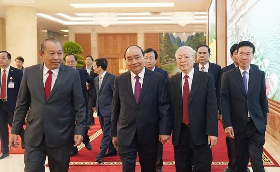Tổng bí thư, Chủ tịch nước dự hội nghị Chính phủ với địa phương - Ảnh 2