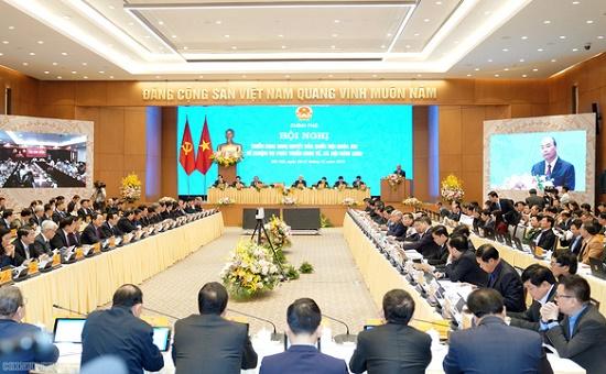 Tổng bí thư, Chủ tịch nước dự hội nghị Chính phủ với địa phương - Ảnh 3