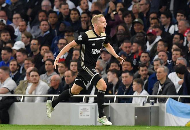 Đánh bại chủ nhà Tottenham, Ajax sáng cửa vào chung kết Champions League - Ảnh 1