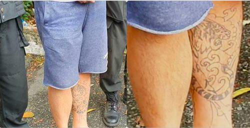 """Bí mật ẩn sau hình xăm hổ gầm trên chân trái của """"ông trùm"""" đường dây ma túy ở TP.HCM vừa bị đánh sập - Ảnh 2"""