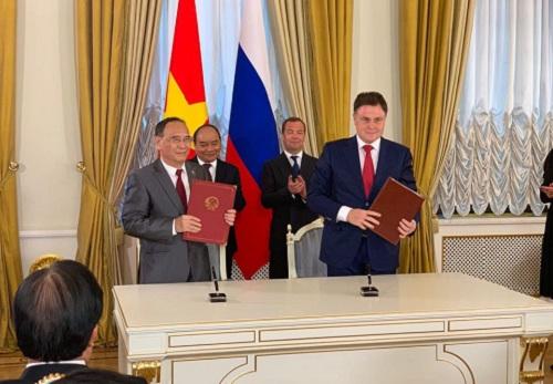 Hội Luật gia Việt Nam ký kết Thỏa thuận hợp tác chiến lược với Hội Luật gia Liên bang Nga - Ảnh 1