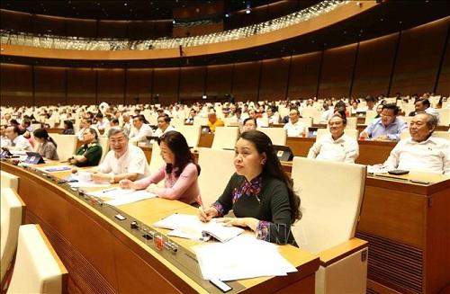 Cử tri đánh giá các đại biểu Quốc hội đã 'đi thẳng, xoáy sâu' vào vấn đề 'nóng' - Ảnh 1