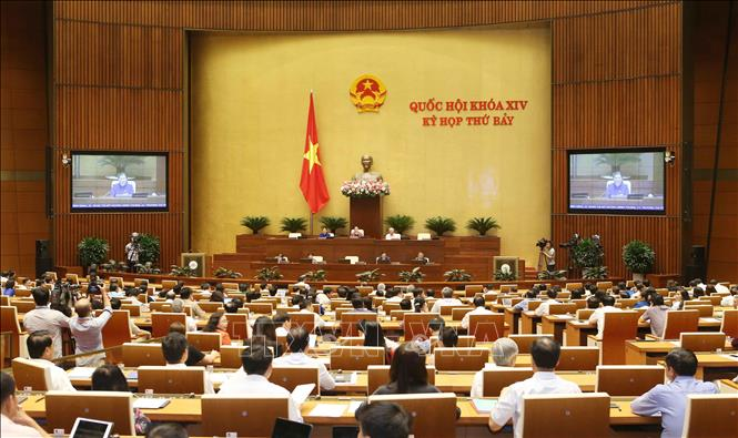 Kỳ họp thứ 7, Quốc hội khóa XIV: Biểu quyết ba Luật và thảo luận hai dự án Luật - Ảnh 1