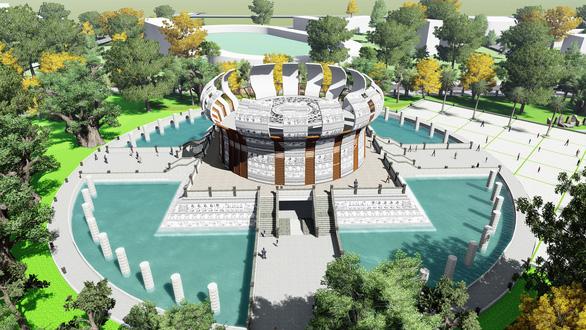 Cần Thơ: Khởi công xây dựng đền thờ các vua Hùng với tổng mức đầu tư gần 130 tỉ đồng - Ảnh 1