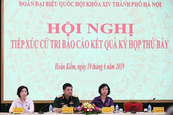 Cử tri Hà Nội bày tỏ nhiều nguyện vọng tới Tổng Bí thư, Chủ tịch nước Nguyễn Phú Trọng - Ảnh 2