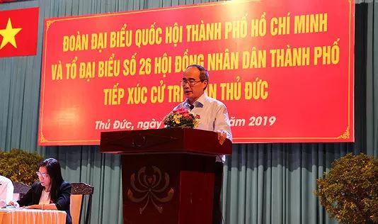 Bí thư Thành ủy Nguyễn Thiện Nhân chỉ ra những sai phạm của ông Đoàn Ngọc Hải khi phụ trách mảng xây dựng đô thị - Ảnh 1