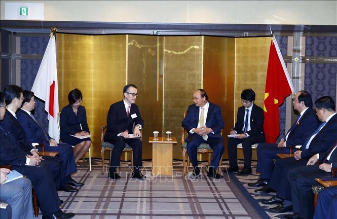 Thủ tướng Nguyễn Xuân Phúc đến Tokyo, bắt đầu chuyến thăm Nhật Bản - Ảnh 4