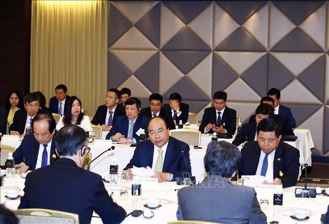 Thủ tướng Nguyễn Xuân Phúc đến Tokyo, bắt đầu chuyến thăm Nhật Bản - Ảnh 7
