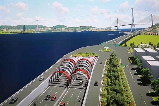 Đầu tư 9.800 tỷ đồng xây hầm đường bộ xuyên biển lớn nhất Việt Nam - Ảnh 1