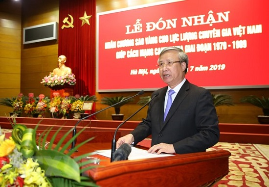 Trao Huân chương Sao Vàng cho lực lượng chuyên gia Việt giúp Campuchia - Ảnh 2