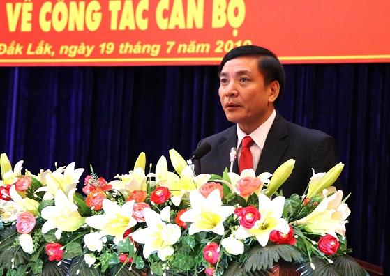 Bổ nhiệm Chủ tịch Tổng LĐLĐ Việt Nam Bùi Văn Cường làm Bí thư Tỉnh ủy Đắk Lắk - Ảnh 1