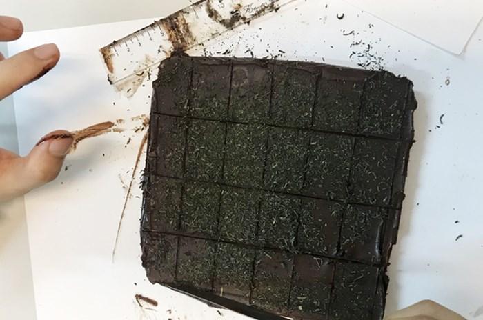 Nam sinh viên chế bánh socola chứa cần sa rồi ngang nhiên rao bán - Ảnh 1