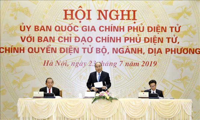 Thủ tướng: Chính phủ điện tử phải lấy sự thuận tiện, hài lòng của người dân làm mục tiêu - Ảnh 1