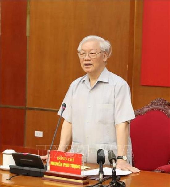 Tổng Bí thư, Chủ tịch nước chủ trì Phiên họp thứ 16 Ban Chỉ đạo Trung ương về phòng, chống tham nhũng - Ảnh 2
