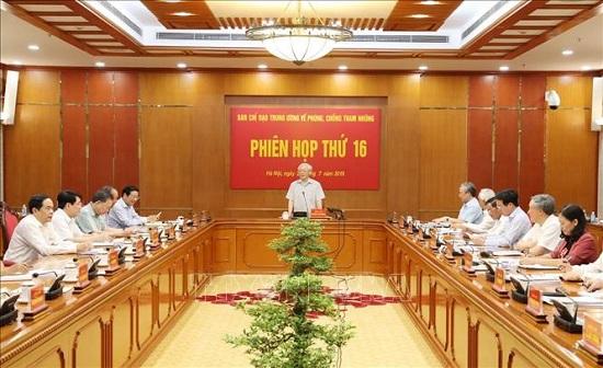 Tổng Bí thư, Chủ tịch nước chủ trì Phiên họp thứ 16 Ban Chỉ đạo Trung ương về phòng, chống tham nhũng - Ảnh 3