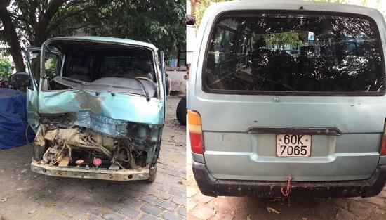 Gia Lai: Tài xế chở gỗ lậu tông thẳng vào xe CSGT dương tính với ma túy - Ảnh 1