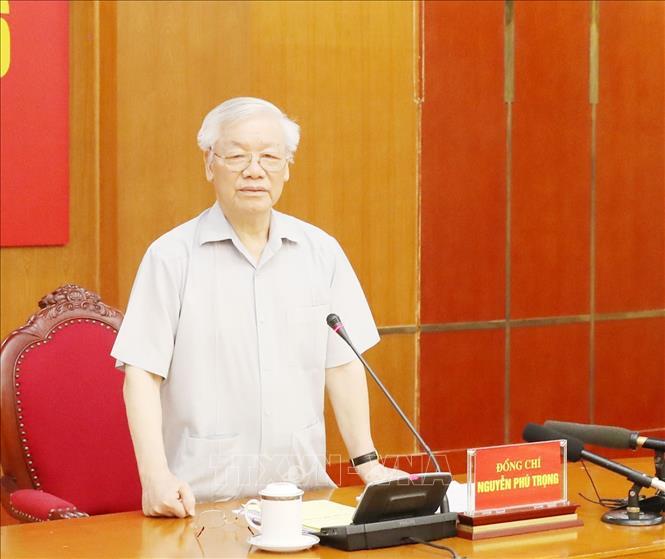 Tổng Bí thư, Chủ tịch nước Nguyễn Phú Trọng: Chuẩn bị tốt nhân sự đại hội đảng bộ các cấp và Đại hội XIII của Đảng - Ảnh 1