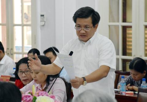 Ban Thường vụ Thành ủy TP HCM đang xem xét xử lý đơn từ chức của ông Đoàn Ngọc Hải - Ảnh 1