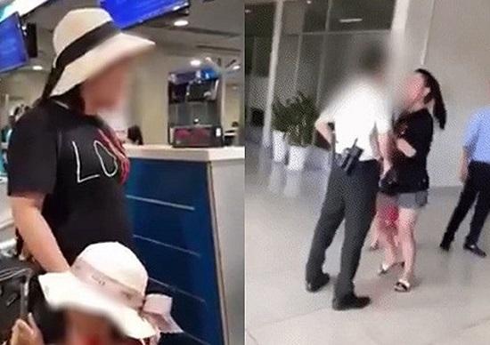 """Trần tình của nữ đại úy """"đại náo"""" sân bay: """"Cô ta đã xúc phạm con tôi"""" - Ảnh 1"""