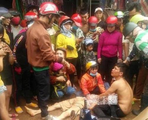 Đắk Nông: Vu vạ cho CSGT gây tai nạn, người nhà mang thi thể nạn nhân để giữa đường, gây rối trật tự - Ảnh 1