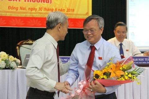 Bí thư huyện Long Thành được bầu giữ chức Chủ tịch UBND tỉnh Đồng Nai - Ảnh 1
