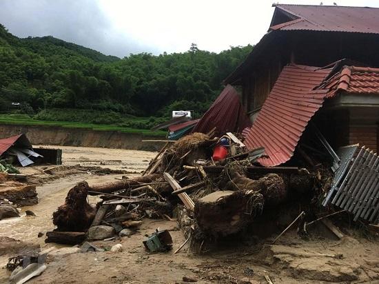 Thanh Hóa: Bản Sa Ná tan hoang sau mưa lũ kinh hoàng - Ảnh 1